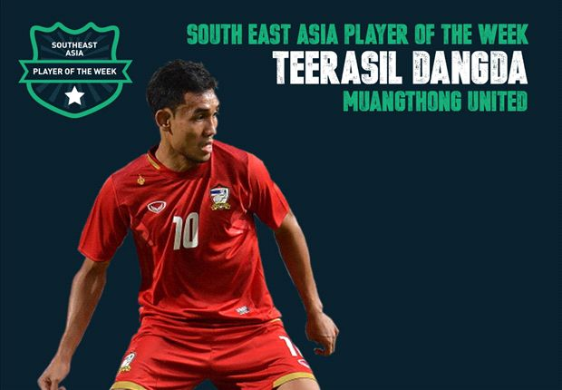 Goal Southeast Asia Player of the Week - Teerasil Dangda