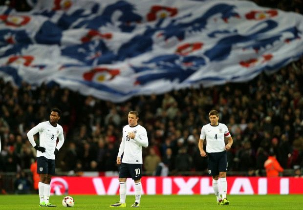 England drop to 13th in Fifa world rankings
