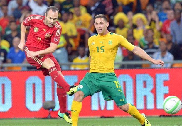 Südafrika erkämpfte umsonst einen Sieg gegen Spanien