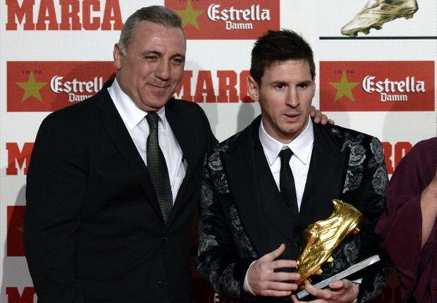 Stoichkov junto a Messi