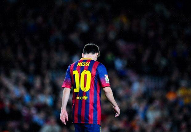 ¿Abandonará Messi el Barcelona?