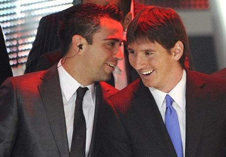 ¿Messi al City? Xavi responde