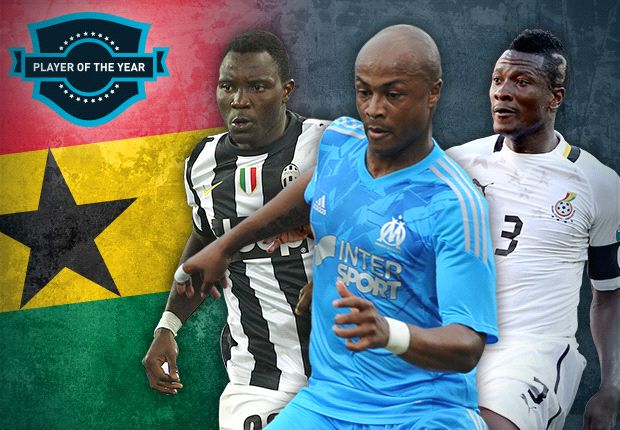 Revealed: The five nominees for the Goal Ghana Player of the Year