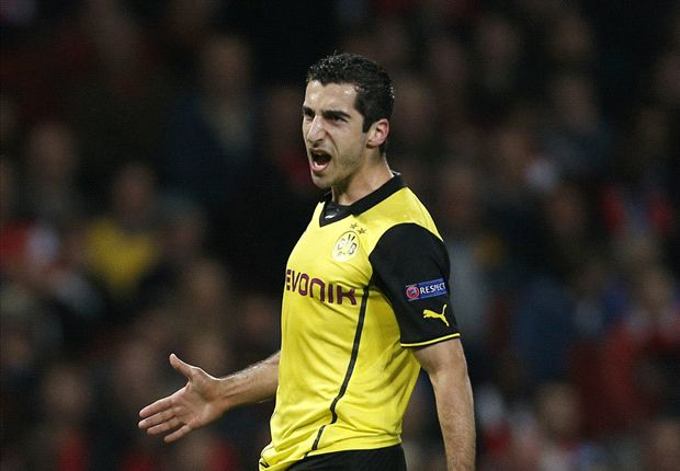 Mkhitaryan: I have not been good enough for Dortmund