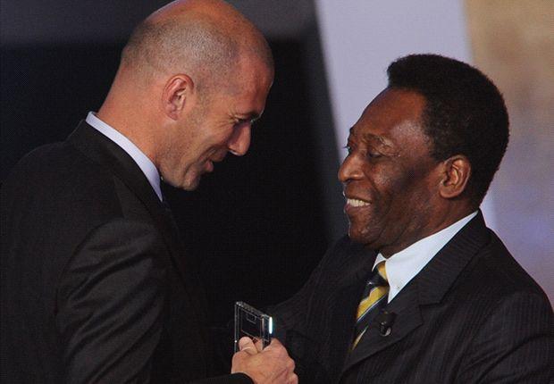 Pele findet Zinedine Zidane besser als Lionel Messi