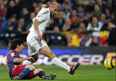 El día que Zidane le pegó a Messi