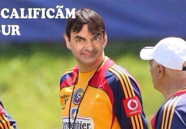 Romania ban Mutu for Mr Bean gag