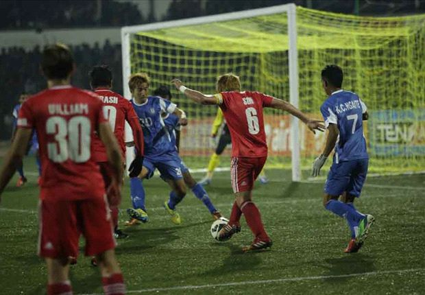 Shillong Lajong 1-1 Rangdajied United: North east derby ends in a stalemate