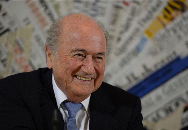Joseph Blatter en Roma
