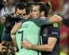 Ronaldo consoló a Gareth Bale