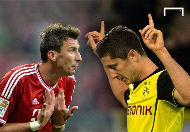 Tiga Gol Bayern Munich Tenggelamkan Borussia Dortmund
