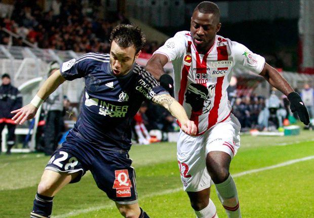 Ajaccio 1-3 Marseille: Gignac stunner helps OM to victory
