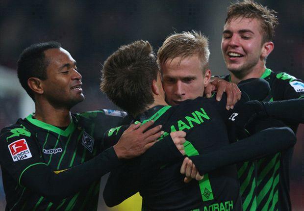Monchengladbach menang 2-0 atas Stuttgart