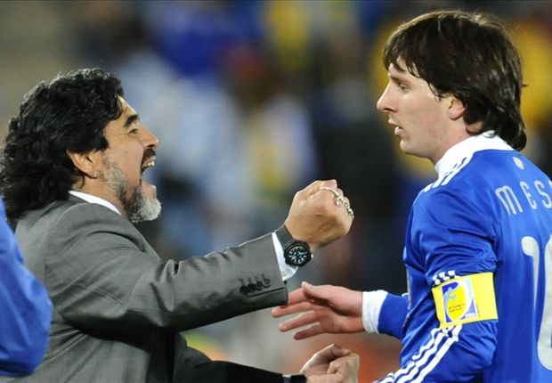 Messi will never surpass Maradona, says Hector Enrique