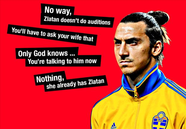Robin Bairner: Rounding up Zlatan Ibrahimovic's top 10 quotes