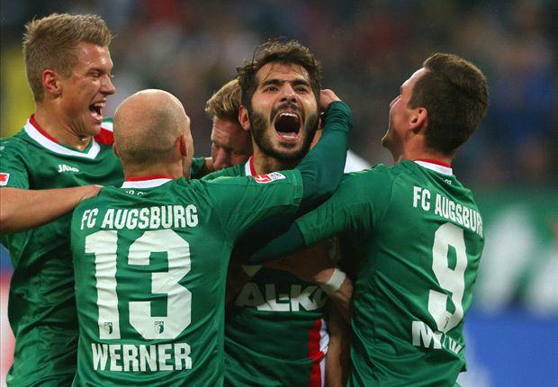 Augsburg verschafft sich Luft im Abstiegskampf