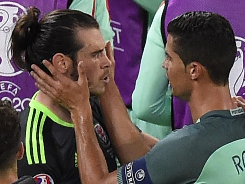 Portugal-Pays de Galles : Ce que Cristiano Ronaldo a dit à Gareth Bale