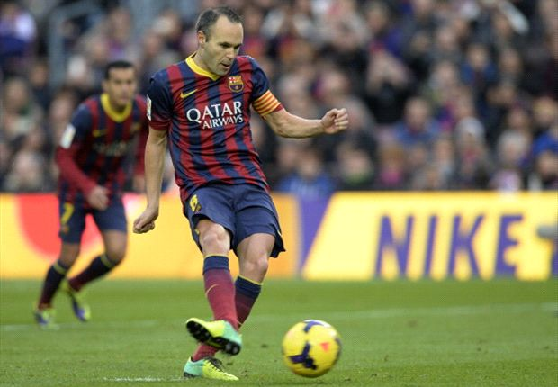 Iniesta: Victory all that matters for Barcelona