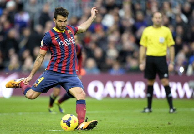 Injuries no excuse for Barcelona, says Fabregas