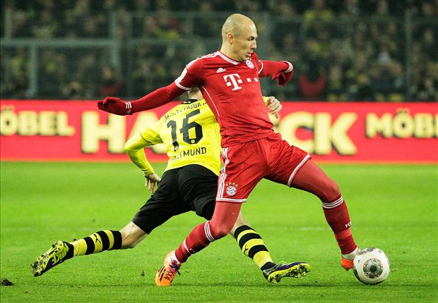 Bundesliga Team of the Week: Robben stars for Bayern