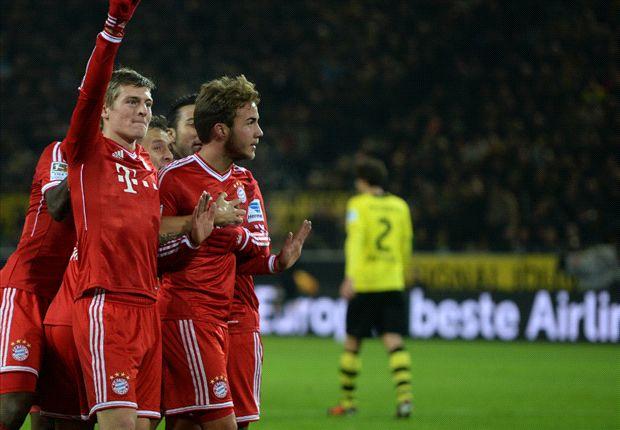 Muss Mario Götze diese Pose gegen Borussia Dortmund noch öfter annehmen?