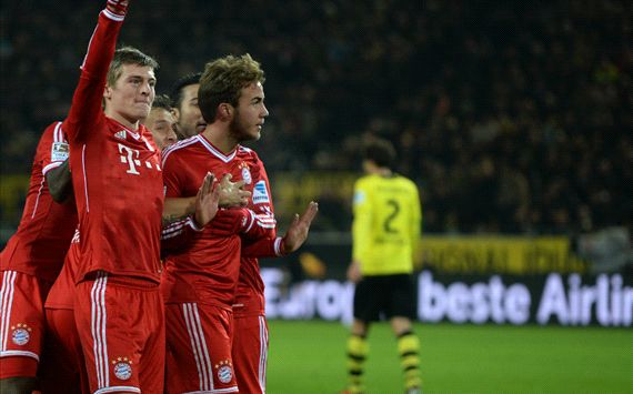 Gotze sparks Dortmund collapse