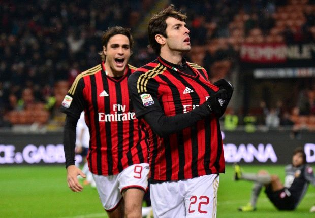 Serie A Team of the Week: Kaka and Cassano back with a bang