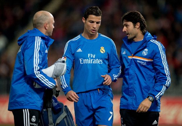 Ronaldo suffers thigh injury
