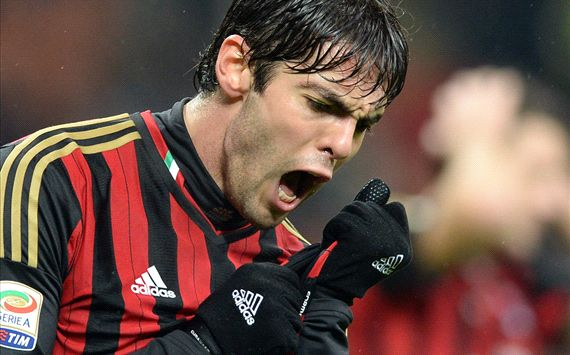 Tension growing in Milan, admits Kaka