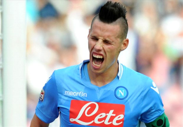 Napoli star Hamsik out of Champions League clash with Dortmund
