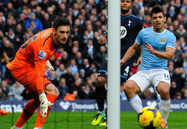 Manchester City 6-0 Tottenham: Aguero puts woeful Spurs to the sword