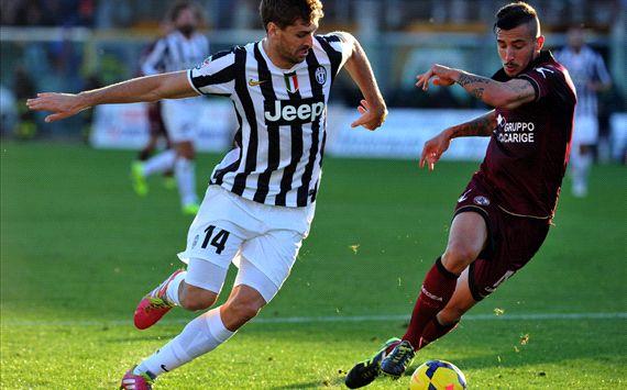 Llorente Ceccherini Livorno Juventus Serie A