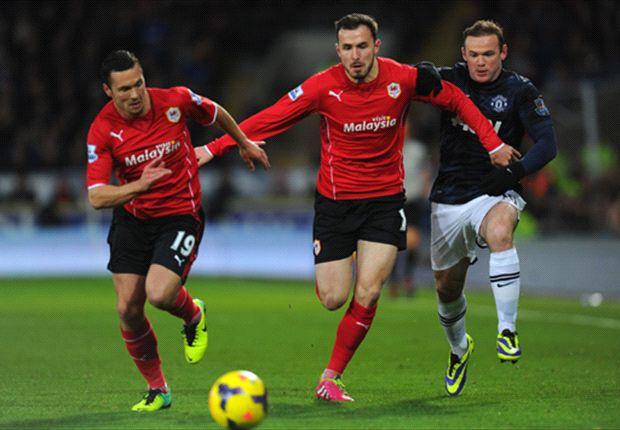 Manchester United Tertahan Di Cardiff Stadium