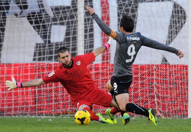 Sergio garcía quiere volver a marcar ante la Real Sociedad