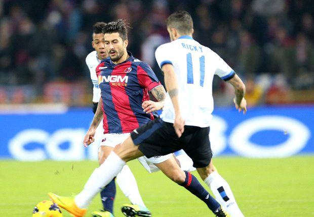 Inter rescató un punto en su visita a Bologna
