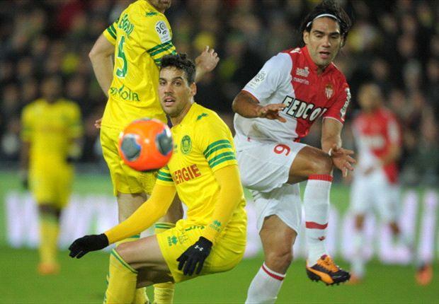 Mónaco volvió al triunfo en Nantes