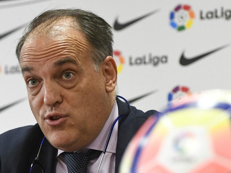 Javier Tebas, président de la Liga, répond aux accusations du Barça