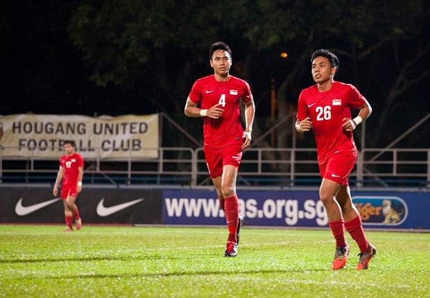 Shahfiq Ghani (right) is expected to lead the line in Myanmar with Sahil Suhaimi. (Photo: FAS)