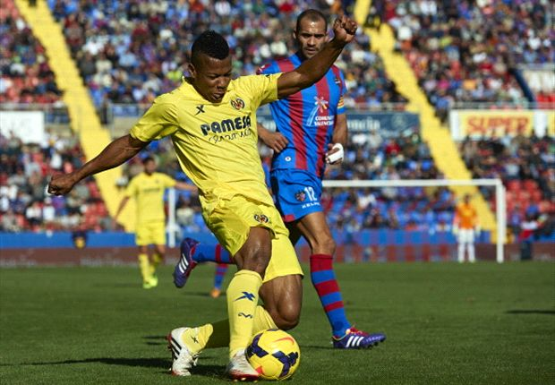 Ikechukwu Uche scored a brace against Levante on Sunday