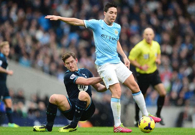 'At home we are one of the best' - Nasri hails Manchester City form