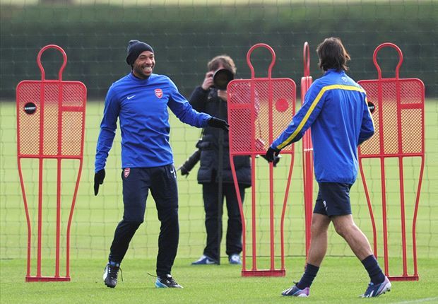 'They're only training with us!' - Wenger rules out Henry & Pires signings
