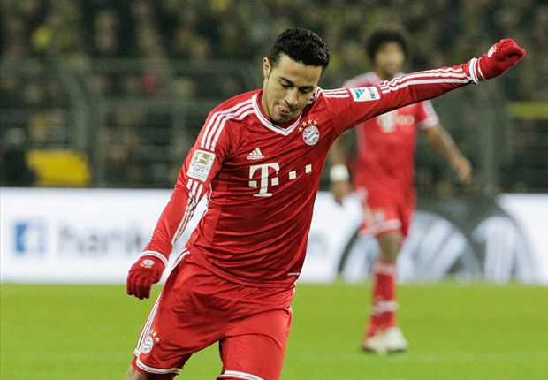 Thiago delighted with Bayern Munich return
