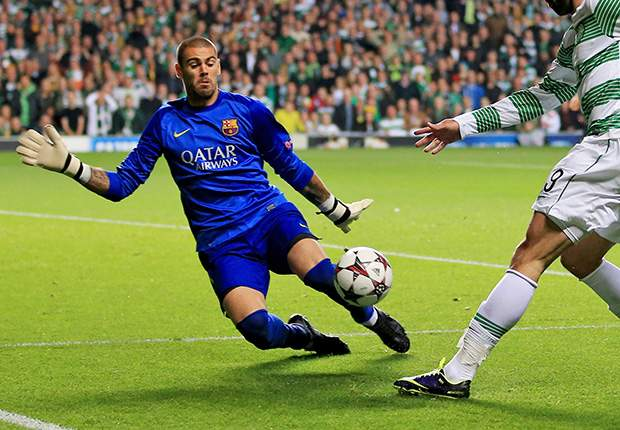 I want to emulate 'Barca's best ever' Valdes, says Masip