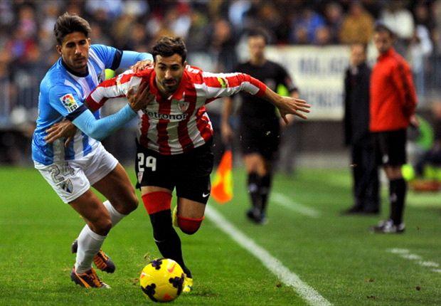 Málaga 1-2 Athletic: Demasiado castigo para los blanquiazules