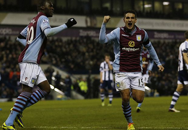 West Brom 2-2 Aston Villa: Stunning Westwood strike saves point for visitors
