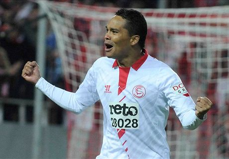 Bacca eager to make Europa League history with Sevilla