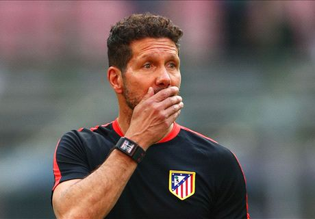 VIDEO: Atletico star VOMITS in training