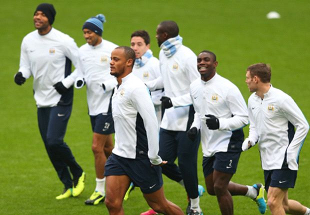 Manchester City boosted by Kompany's return to training