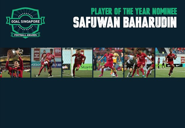 LionsXII and Singapore defender Safuwan is leading the Player of the Year polls.