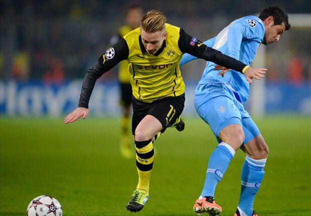 Borussia Dortmund 3-1 Napoli: Klopp's men pile pressure back on Partenopei